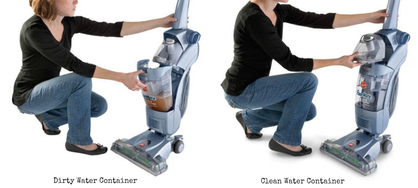 Hoover FloorMate SpinScrub Vacuum