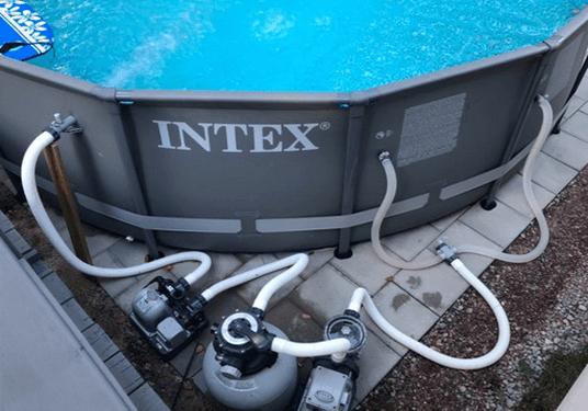 intex above ground pool pump
