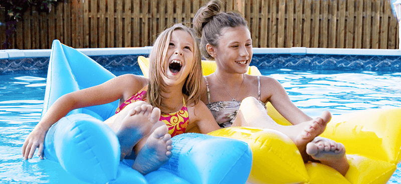 Above Ground Pool Inflatable Playhouse