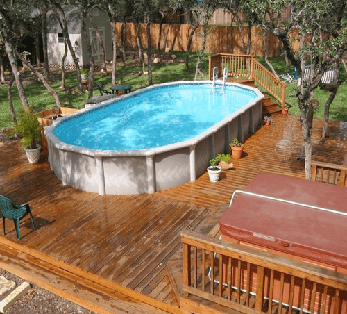 Above Ground Pool Tradition design