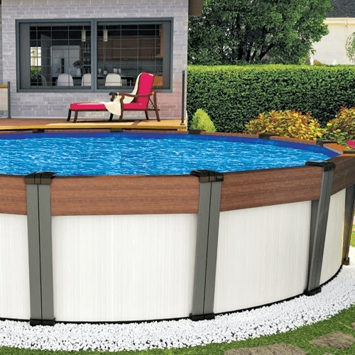 Above Ground Pool sitting place