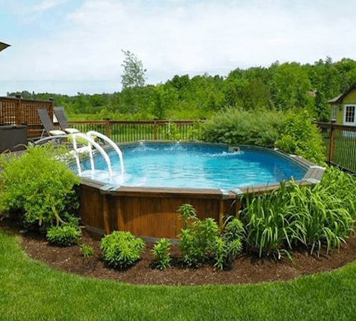 Natural Looking Above Ground Pool