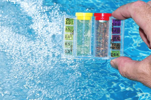 Total Chlorine is Higher Than Free Chlorine